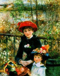 On the terrace by Renoir