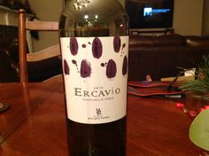 2012 Ercavio Tempranillo Roble, Bodegas Mas Que Vinos, Toledo Spain