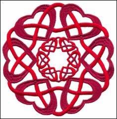 Celtic hearts Celtic Patterns, Henna Patterns, Celtic Designs, Cool Small Tattoos, Small Tattoo Designs, Celtic Heart, Celtic Knot, Custom Embroidery, Embroidery Designs