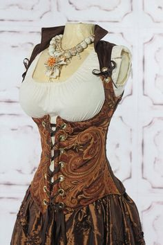 Buffer Steampunk Fashion 101 By A. Exley Author of The Artifact Hunters series First off, let me say that contrary to rumours circulating, steampunk … Steampunk Wedding, Victorian Steampunk, Steampunk Costume, Steampunk Clothing, Steampunk Corset, Steampunk Necklace, Paisley, Steampunk Vetements, Looks Style