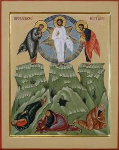 Icon of Transfiguration of Christ. 2011