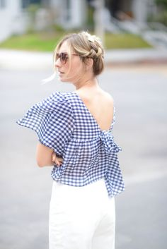 Dipped in Gingham -