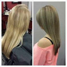 Highlighted Hair. Long Hair Styles.