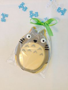 Totoro baby shower // Totoro cookie // It's a boy