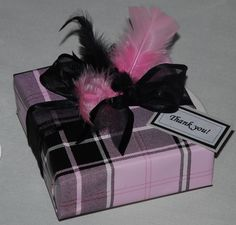 Custom gift wrapping by Joanie Hitt - thank you gift