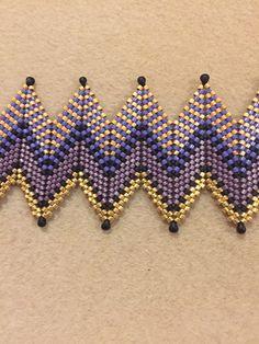 Peyote Stitch Patterns, Beading Patterns Free, Bead Loom Patterns, Beaded Braclets, Beaded Jewelry, Peyote Beading, Beading Projects, Bead Art, Bead Weaving