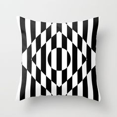Hot Spot Rhombus Throw Pillow by bitart Throw Cushions, Couch Pillows, Designer Throw Pillows, Down Pillows, Accent Pillows, Scandinavian Bathroom, Scandinavian Home, Shades Of White, Black And White