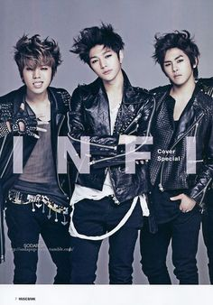 Infinite for May Issue of MuBank Magazine