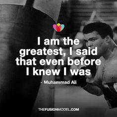 Muhammad Ali - I am the Greatest
