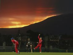 The beautiful game. A day night 20/20 at Hobart. Australia vs England 29 January 2014