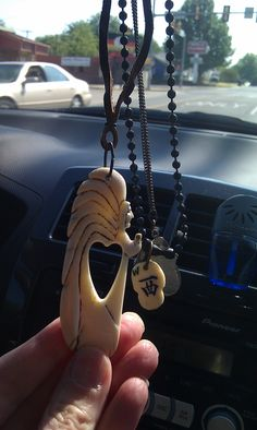 hand carved Bone Dust angel by Hillbilly! Bone Carving, Hillbilly, Whittling, Dog Tags, Dog Tag Necklace, Hand Carved, Bones, Angel, Jewelry