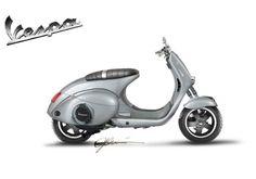 8 scooter concepts inspired by Vespa designed by a set of international designer such as Niklas Wagner and Daniele Pesaresi Vespa Gts, New Vespa, Motos Vespa, Vespa Sprint, Piaggio Vespa, Lambretta Scooter, Scooter Motorcycle, Vespa Scooters, Scooter Scooter