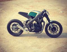 Tony535 ~ Royal Enfield heart into Yamaha delta box frame | 350CC.com