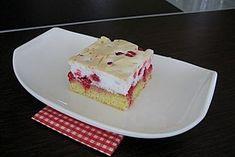 Ribiselkuchen (Johannisbeeren) 5 Cupcakes, Cupcake Cakes, Rhubarb Recipes, School Snacks, Vanilla Cake, Cheesecake, Food And Drink, Pie, Sweets