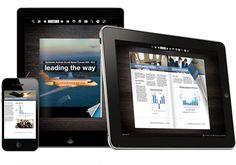 PUB HTML5 is a HTML5 based digital magazine publishing platform for publishing interactive books & magazines on iPad & iPhone using simply open web standards.  http://pubhtml5.com/html5-magazine-maker