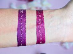 Mulac Cosmetics Lipsticks: Hocuspocus & Satisfaction