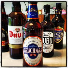 Caledonian Brewery Deuchars IPA - 4.4% ABV - made with finest malted barley and whole flowered Styrian Goldings, Fuggles, and Willamette hops creating a fresh Citrusy taste with delicate floral finish
