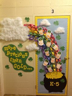 st patricks day Classroom Door Decorations | St. Patrick's Day door