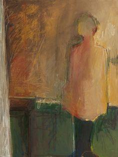 "School Girl by Dru Scott Warmath Oil ~ 40"" x 30"""