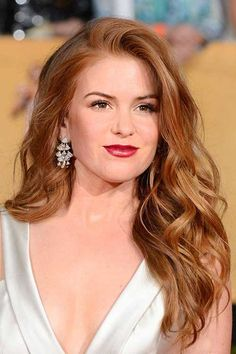 Strawberry Blonde Classy Hair Style                                                                                                                                                                                 More