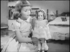 era commercial for Shirley Temple Doll and Shirley Temple Tea Set by Ideal Toys. Vintage Tv, Vintage Girls, Vintage Barbie, Vintage Kids Photography, Doll Videos, Funny Commercials, Ideal Toys, Retro Toys, Hello Dolly