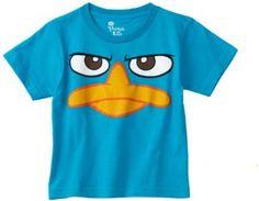 Phineas & Ferb Boys 2-7 Duck Bill Juvy T-Shirt $6.50 - $16.46