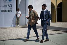 pitti uomo street style fashion