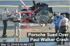 Latest News:  Porsche Sued Over Paul Walker Crash.  Authorities say speed alone is to blame for the deaths of Paul Walker and Roger Rodas in a fiery crash last year—but Rodas' widow begs to differ.  Get all the latest news on your favorite celebs at www.CelebrityDazzle.com!