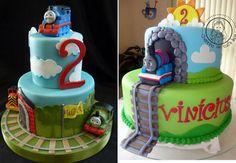 Imagens: http://www.flickriver.com/photos/tags/thomascake e http://www.cakecentral.com