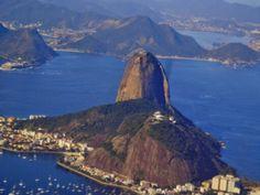 Morro da urca e pao de acucar , rio de janeiro, brasil.