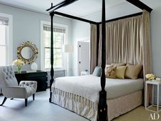 Thinking about painting one of your spaces gray? See how the world's best designers have used the versatile neutral to create rooms ranging from edgy to tranquil