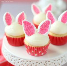 gateau de paque lapin cupcake