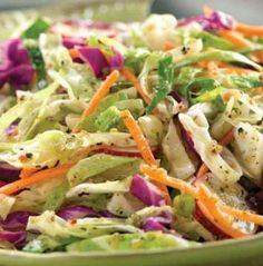 Recipe for Old Fashioned Cole Slaw