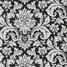 black and white- this is the fabric on my valance boxes