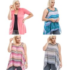 New plus sizes in today!  Tanks are only $27.99.