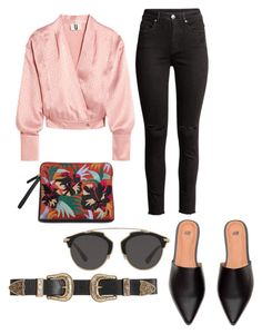 """Spring Look"" by catmarguerite on Polyvore featuring Topshop Unique, Christian Dior, B-Low the Belt, StreetStyle, stylist and styleblog"