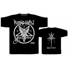 Rotting Christ: Since 1989 (tricou) Death Metal, Rotting Christ, My Style, Metalhead, Mens Tops, Material, Band, Products, Fashion