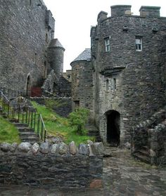 This is how the inside of Eilean Donan Castle looks after being restored between 1919 and 1932 by Lt. Col. John MacRae-Gilstrap.Highlands Scotland