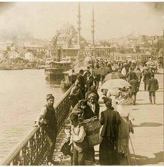 Galata Köprüsü, İstanbul.1913
