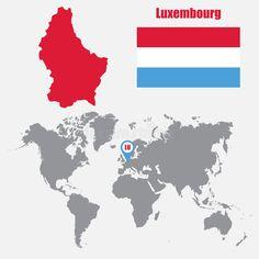 Bildergebnis für luxemburg flagge