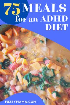 ADHD Diet for Kids | Take a peek at some of our most loved and used recipes as we follow an ADHD Diet for kids. These recipes not only fit our gluten free, dairy free, soy free protocol, they are budget friendly as well. Dairy Free Diet, Gluten Free, Adhd Diet, Fruit And Veg, Nut Butter, Blue Berry Muffins, Best Breakfast, Us Foods, Diet Tips