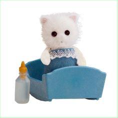 Sylvanian Families Toys  Persian Cat Baby www.greenanttoys.com.au