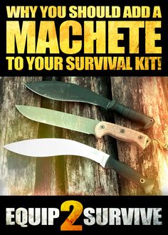 Why a machete should be a part of your survival tool set! Machetes are far more versatile tools than most realize. Choosing the right machete can be a game changer for you in a survival situation or even while just spending time in the woods! Learn how to choose the ideal machete for your outdoor needs!