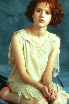 Molly Ringwald promotional photo for The Breakfast Club, 1985