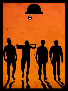 Wallpaper minimalistas laranja Ideas for 2019 Cultura Pop, Clockwork Orange Tattoo, Poster Minimalista, Non Plus Ultra, Horror Artwork, Orange Art, Alternative Movie Posters, Movie Poster Art, Trendy Wallpaper