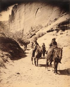 Buy the Navajo Indian Band Edward S. Curtis 1904 Photo Print for sale at The McMahan Photo Art Gallery and Archive. Native American Pictures, Native American History, Native American Indians, Native Americans, American Life, Old Pictures, Old Photos, Indiana, Edward Curtis