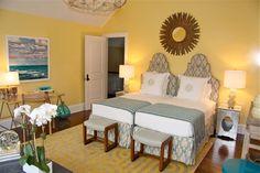 Guest Bedroom – eclectic – bedroom – new york – Arden Stephenson, ASID – Toptrendpin Beach House Bedroom, Home Bedroom, Girls Bedroom, Bedroom Furniture, Bedroom Decor, Bedroom Ideas, Furniture Plans, Bedroom Inspiration, Master Bedroom