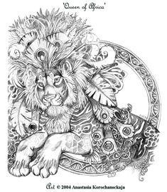 African Queen by balaa.deviantart.com on @deviantART