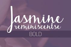 Check out Jasmine Reminiscentse Bold by Brittney Murphy Design on Creative Market