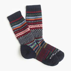 Chup™ for J.Crew SmartWool® socks : socks and tights Cozy Socks, Women's Socks, Look Man, Looks Cool, Unisex, Sock Shoes, At Least, Tights, Cute Outfits